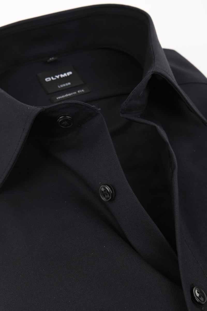 Olymp Luxor shirt SL7 MF Black photo 1