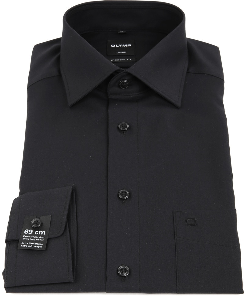 Olymp Luxor shirt SL7 MF Black photo 2