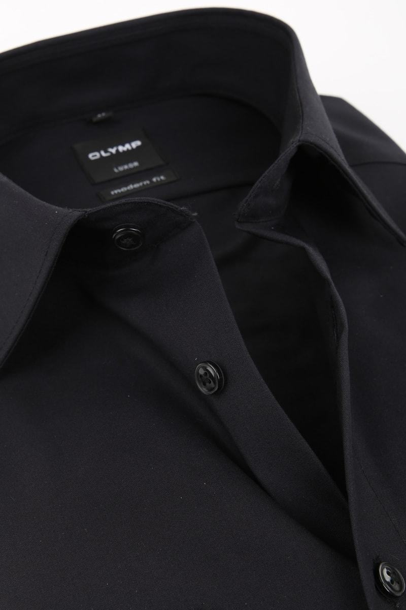 OLYMP Luxor Shirt SL7 MF Zwart foto 1