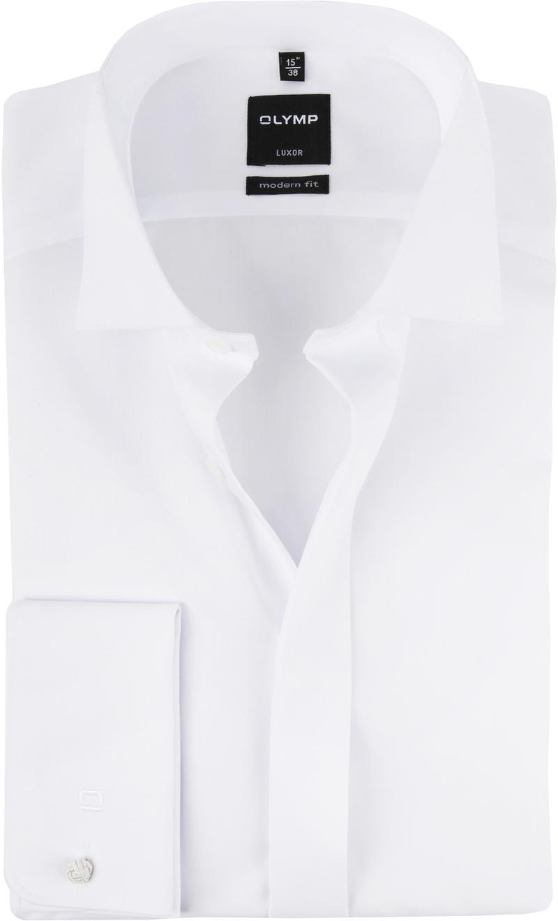 OLYMP Luxor Smoking Overhemd MF - Wit maat 38