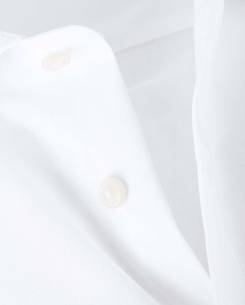 OLYMP Luxor Strijkvrij Shirt Comfort Fit Wit foto 1