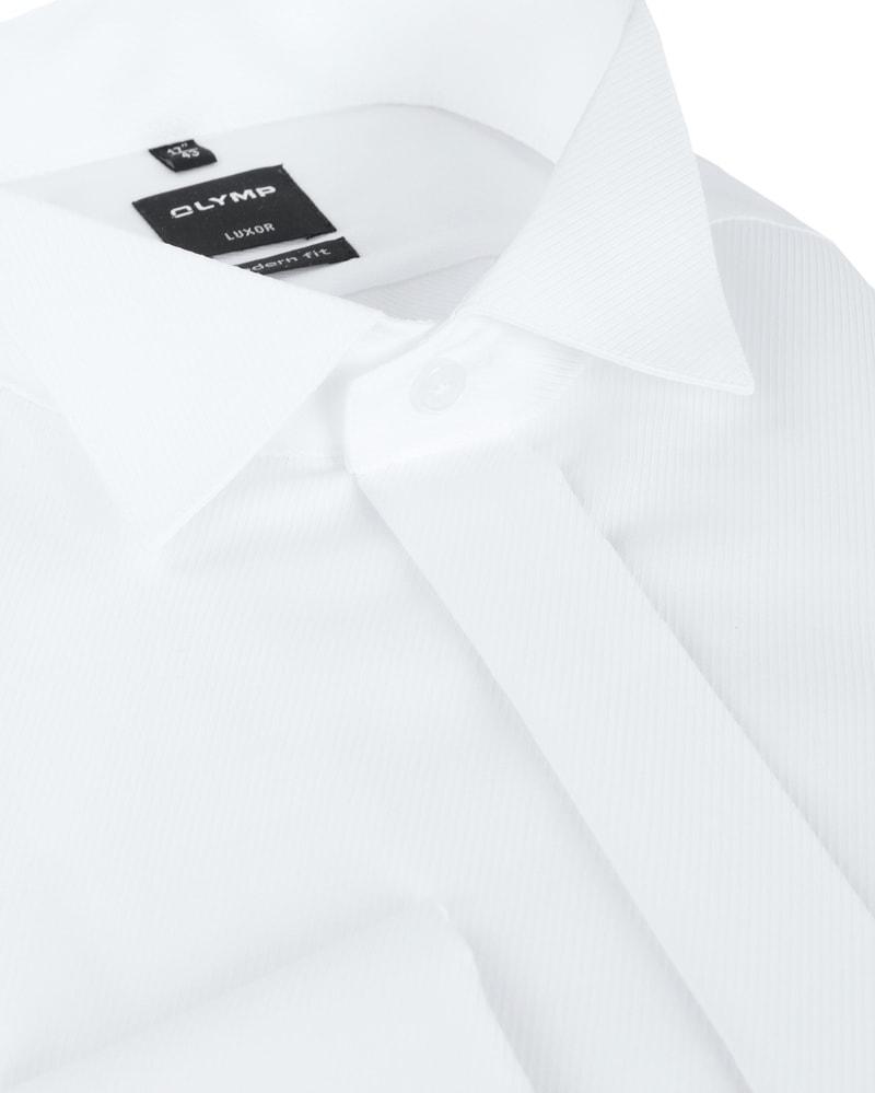 Olymp Luxor Tuxedo Shirt White