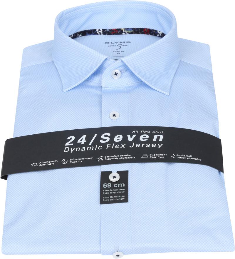 OLYMP Lvl 5 Extra LS Overhemd 24/Seven Blauw