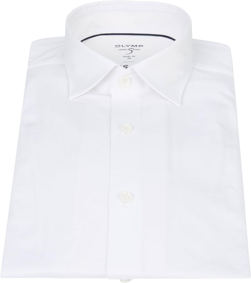 OLYMP Lvl 5 Overhemd 24/Seven Wit foto 2