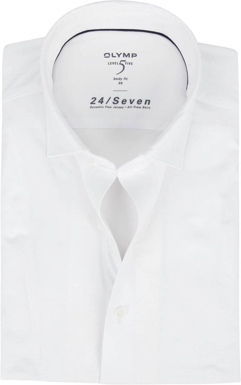OLYMP Lvl 5 Overhemd 24/Seven Wit foto 0