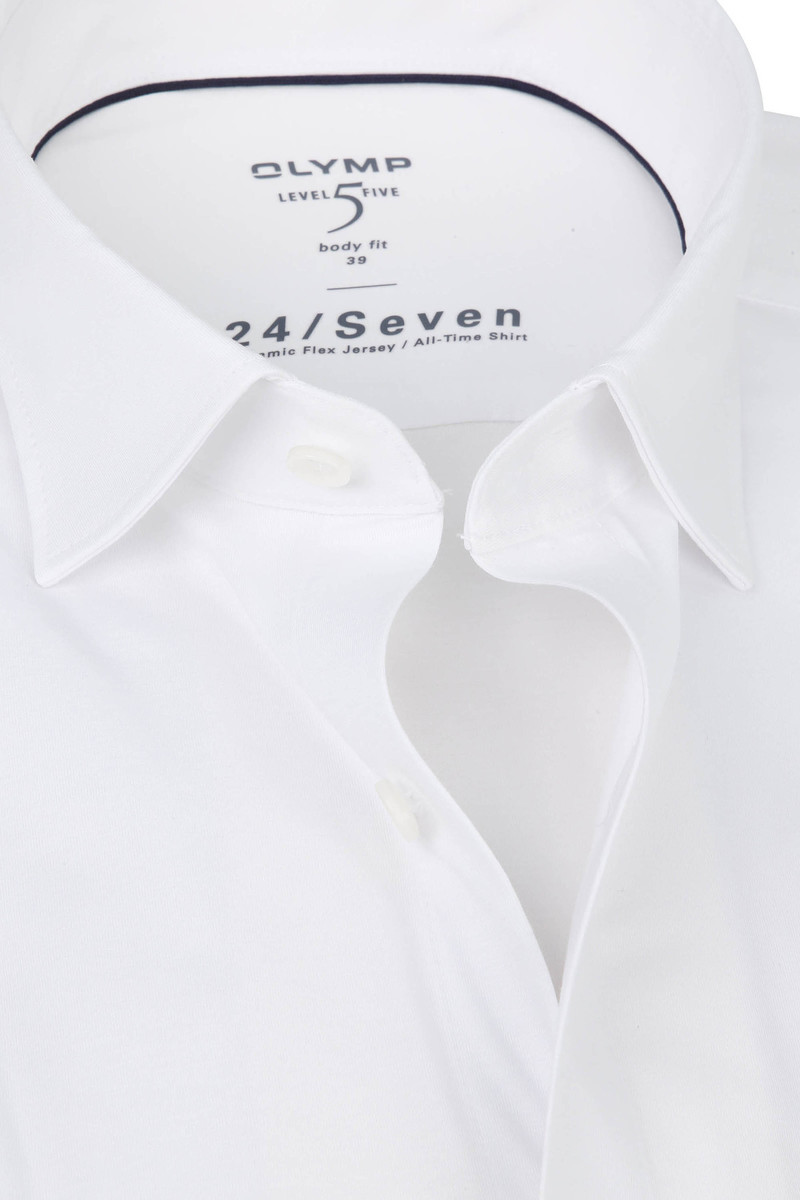 OLYMP Lvl 5 Overhemd 24/Seven Wit foto 1