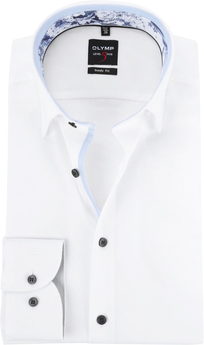 OLYMP Overhemd BF Level 5 Wit foto 0