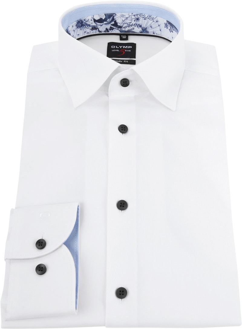 OLYMP Overhemd BF Level 5 Wit foto 2