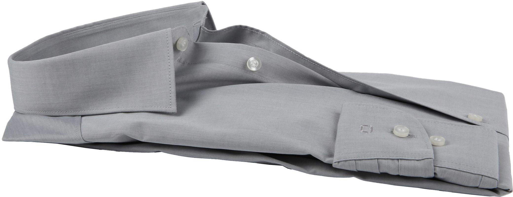 OLYMP Overhemd Level 5 BF Grijs  - Grijs maat 39