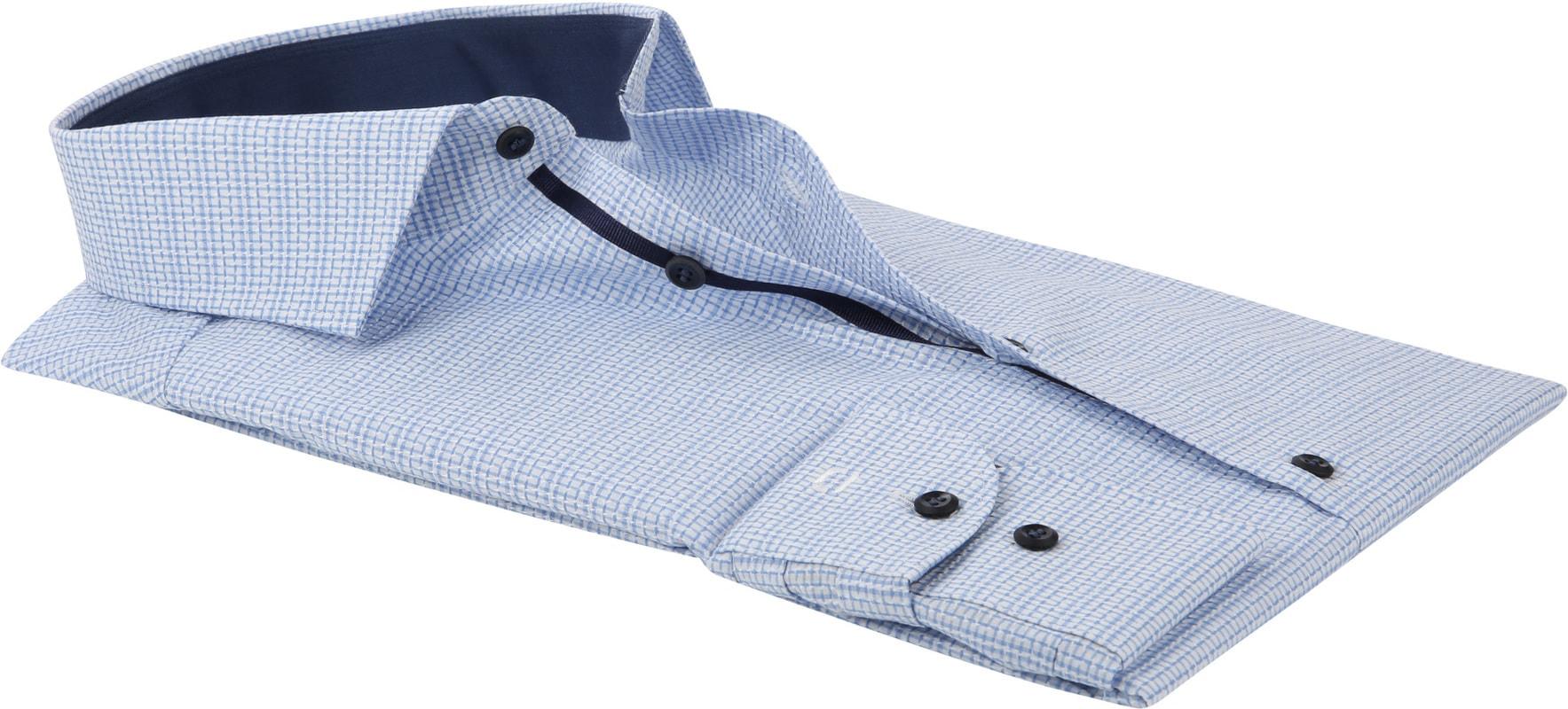 OLYMP Overhemd Level 5 Blauw foto 3