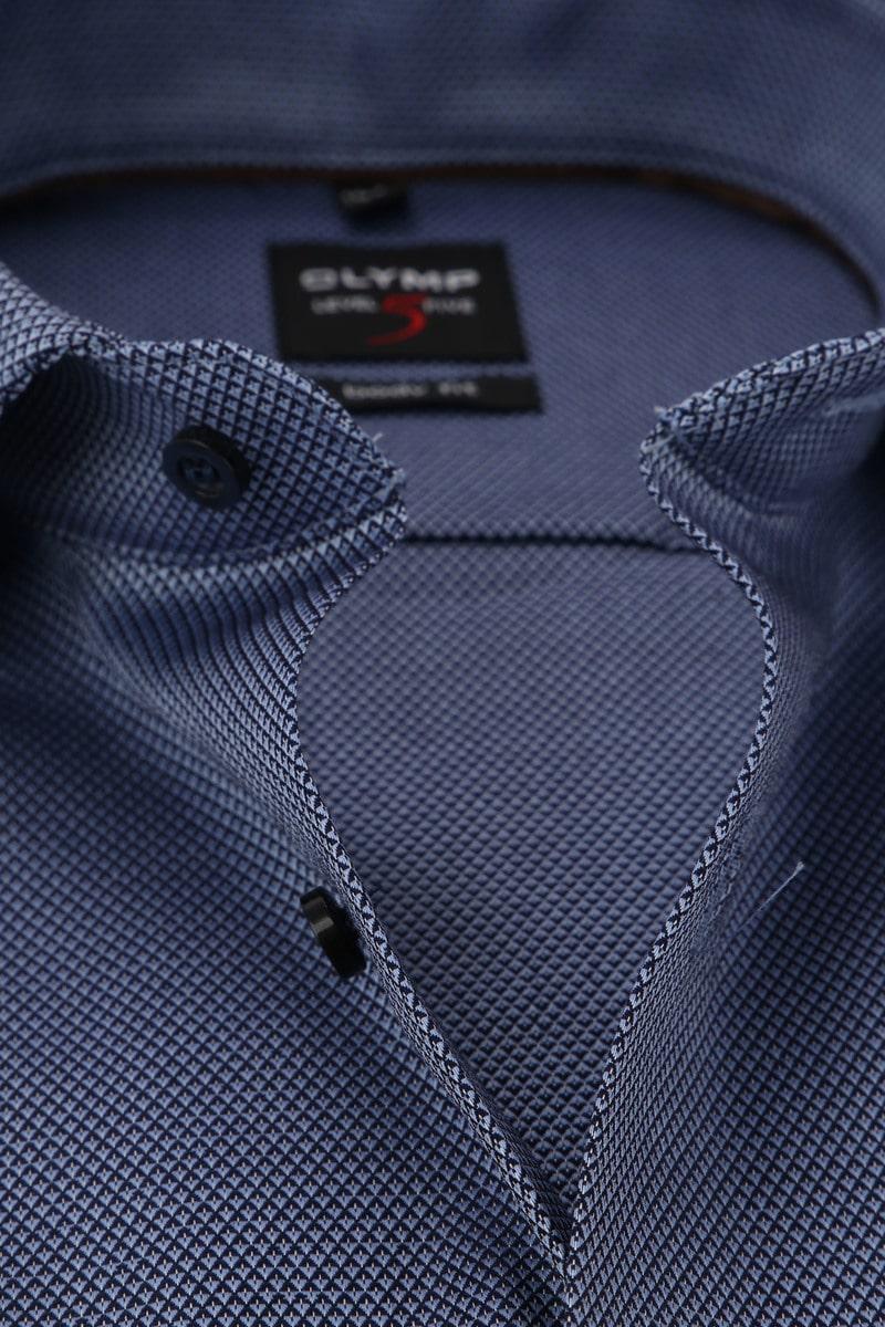 OLYMP Overhemd Level 5 Blauw WS foto 1