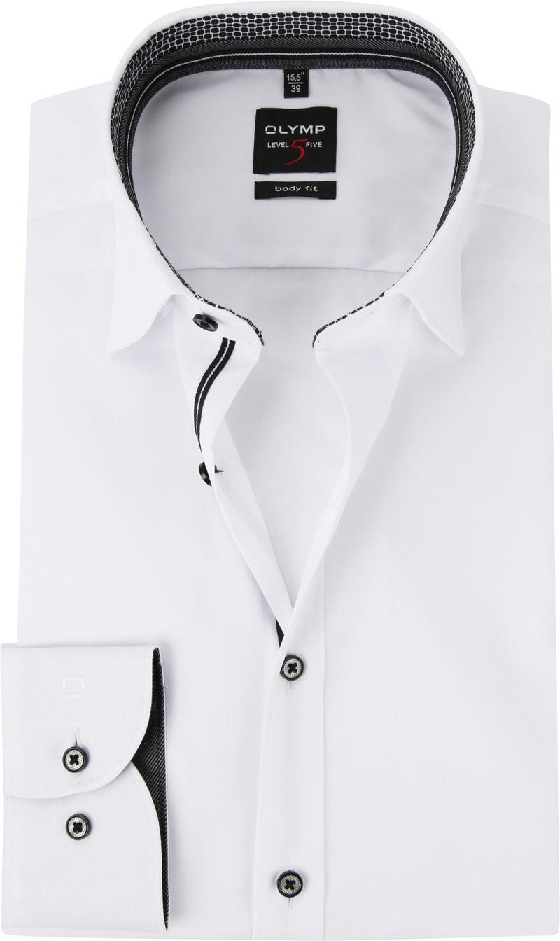 OLYMP Overhemd Level 5 HBD Wit foto 0
