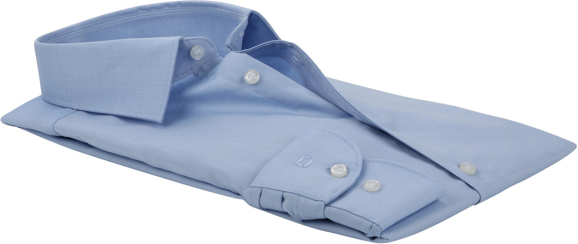 OLYMP Overhemd Level 5 Twill Blauw foto 3