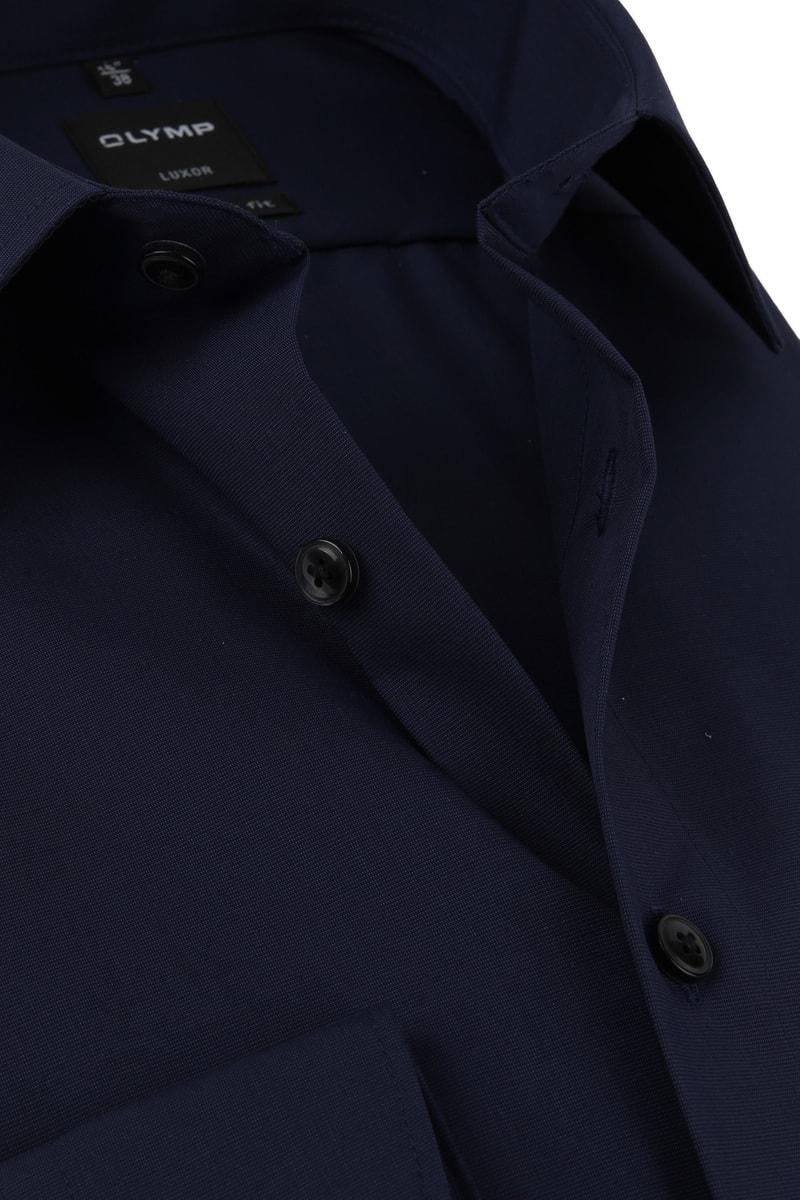 OLYMP Overhemd Luxor Modern-Fit Donkerblauw - Donkerblauw maat 39