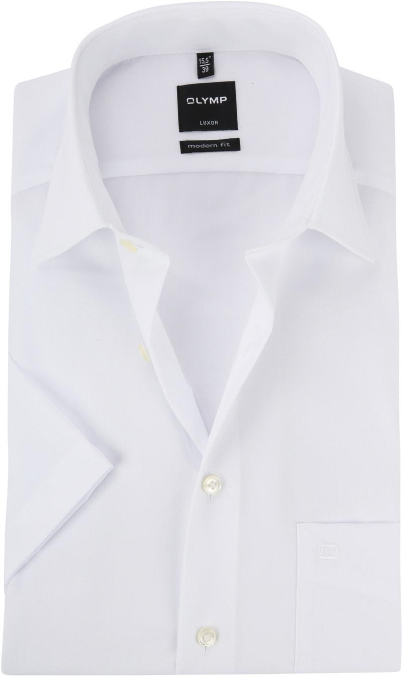 OLYMP Overhemd Luxor Wit - Wit maat 39