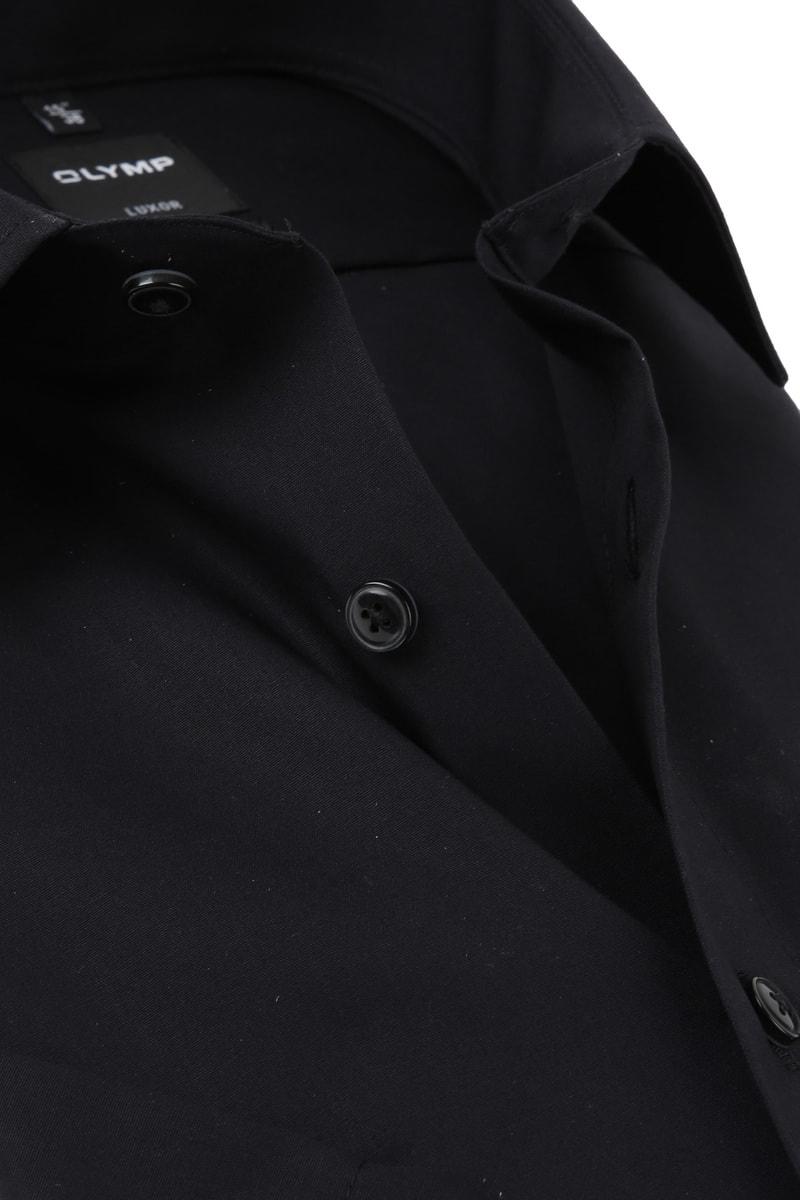 OLYMP Overhemd Luxor Zwart
