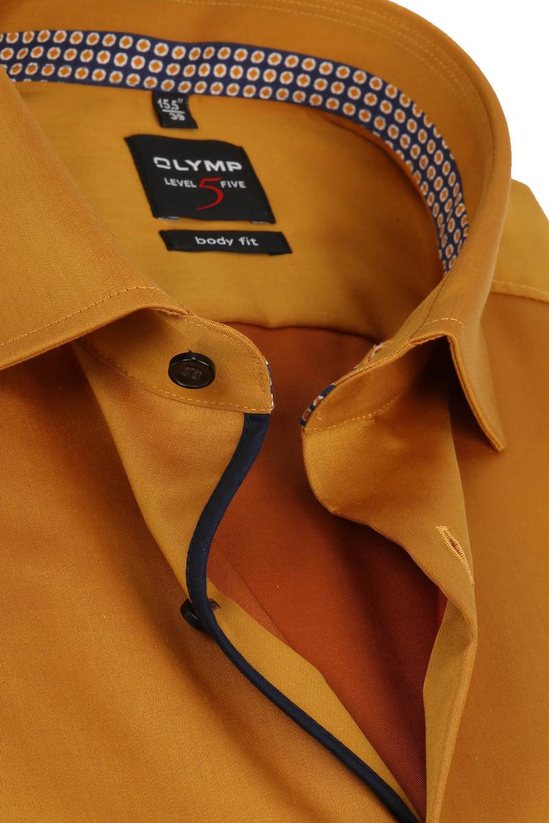 OLYMP Overhemd Lvl 5 Geel foto 1