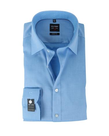 Olymp Shirt Body Fit Blauw SL7  online bestellen | Suitable