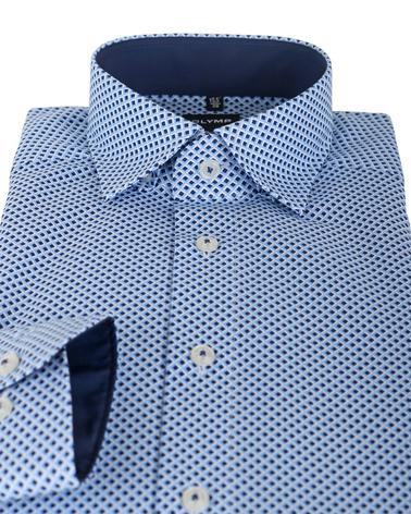 Detail OLYMP Shirt Print Blauw