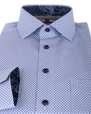 Detail OLYMP Shirt Print Paars