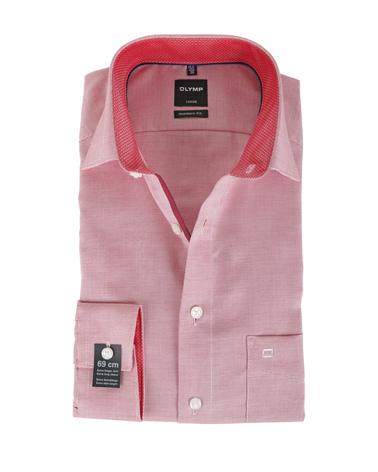OLYMP Shirt Print Rood S7  online bestellen | Suitable
