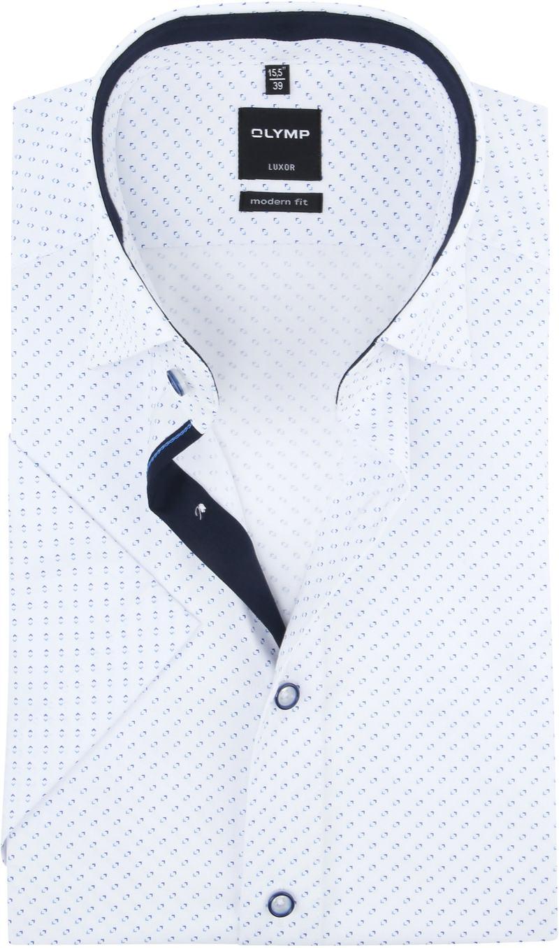 OLYMP Shirt SS Luxor White photo 0