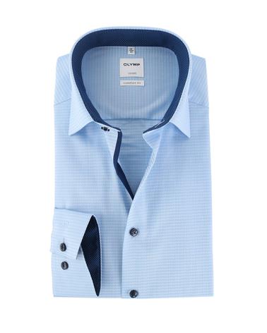 Olymp Strijkvrij Luxor Overhemd Licht Blauw  online bestellen | Suitable