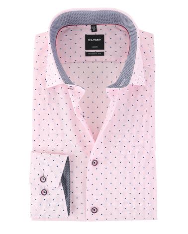 Olymp Strijkvrij Luxor Overhemd Roze  online bestellen | Suitable