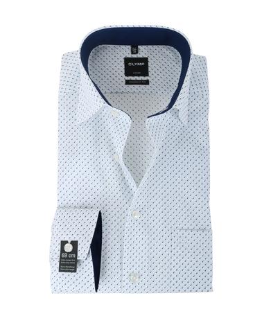Olymp Strijkvrij Overhemd Modern Fit Wit Pinpoint SL7  online bestellen | Suitable