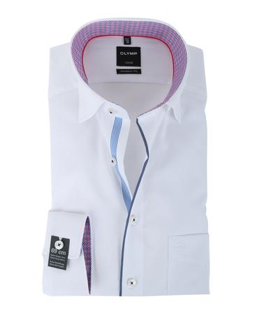 Olymp Strijkvrij Overhemd Modern Fit Wit SL7  online bestellen | Suitable