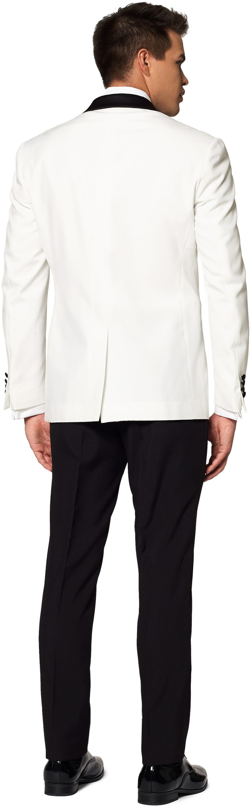 OppoSuits Anzug Pearl White Foto 1