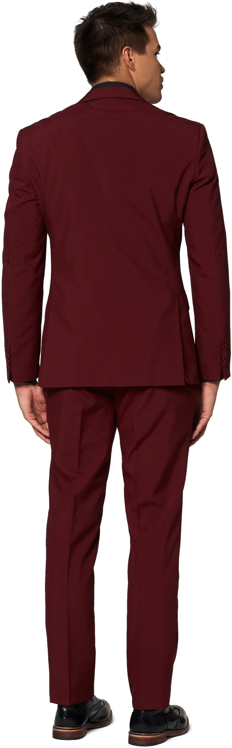 OppoSuits Blazing Burgundy Suit photo 1