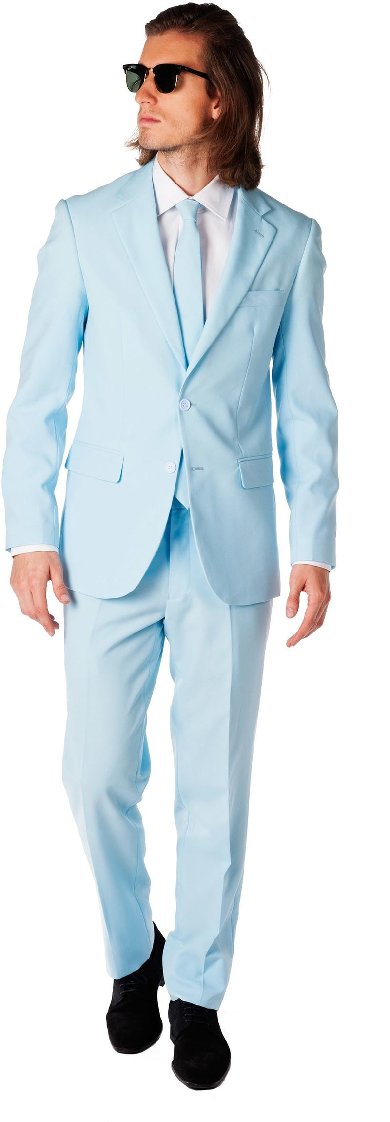OppoSuits Cool Blue Kostüm Foto 0