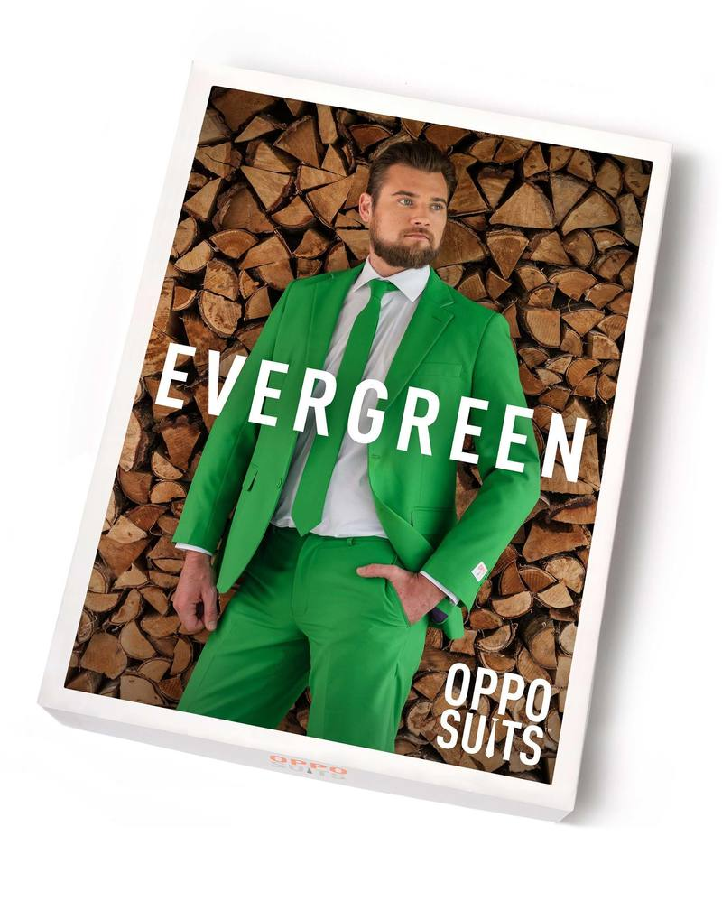 OppoSuits Evergreen Kostuum foto 3