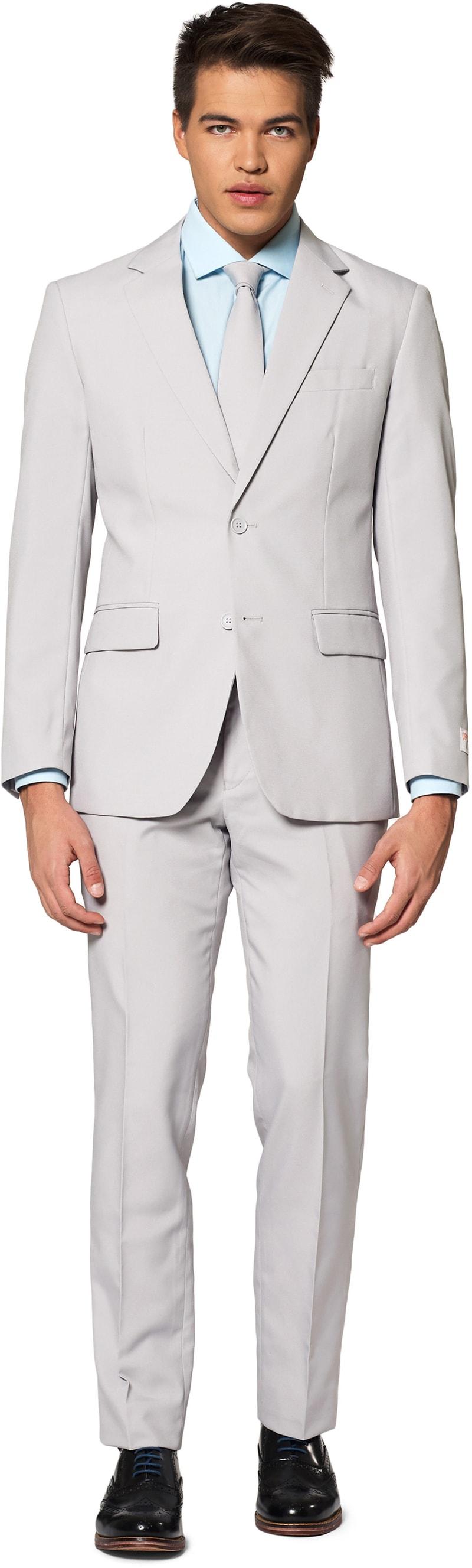 OppoSuits Kostuum Groovy Grey foto 0
