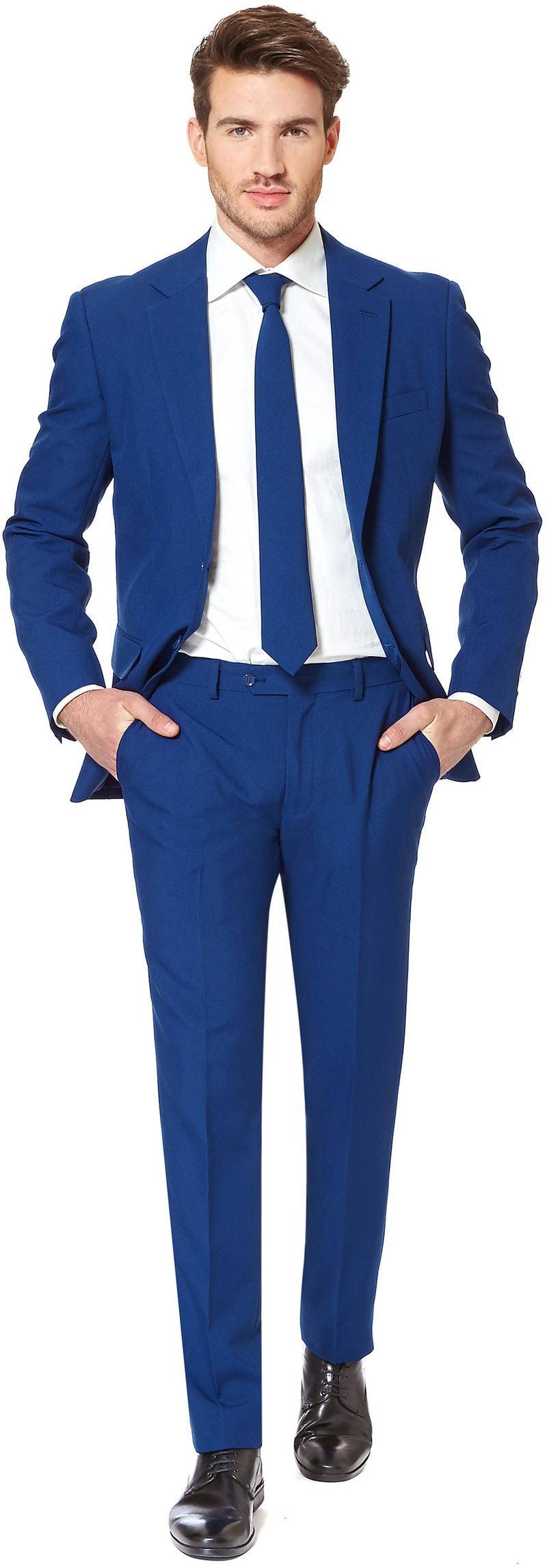 OppoSuits Navy Royale Kostuum  online bestellen | Suitable