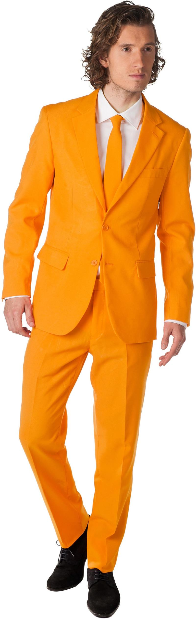 OppoSuits Oranje Kostuum foto 0
