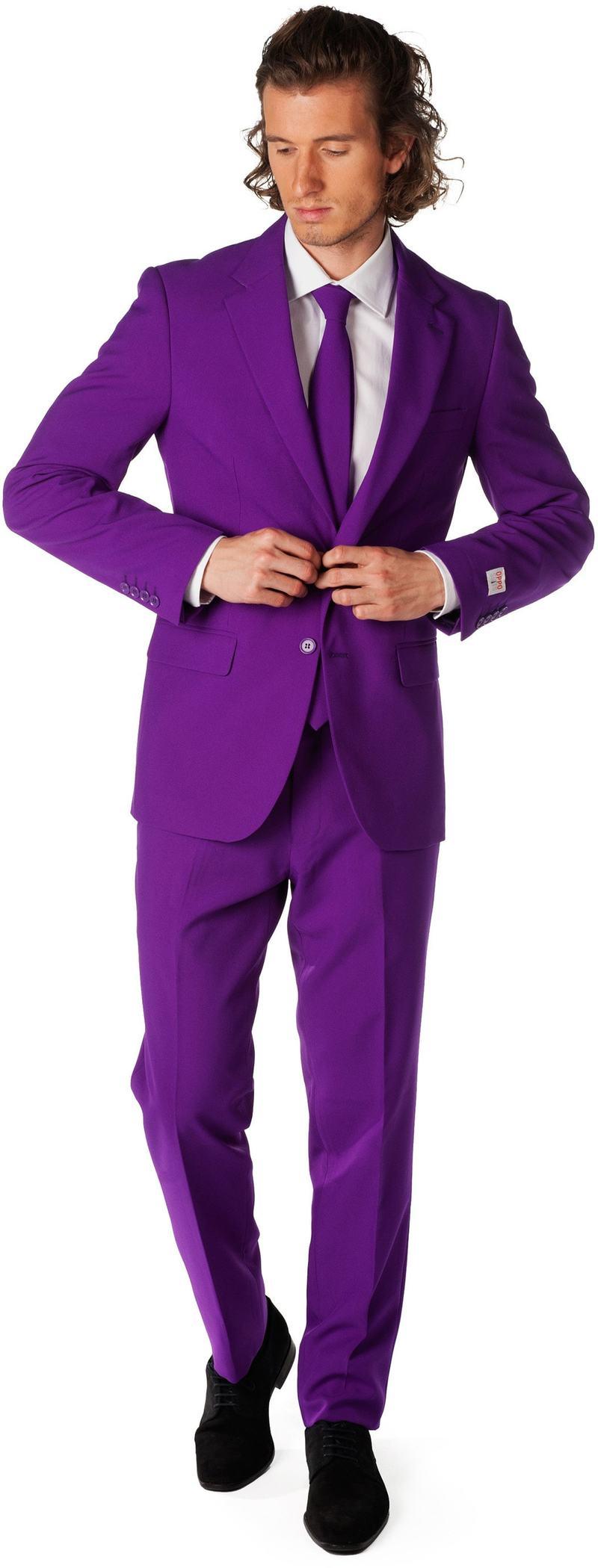 OppoSuits Purple Prince Kostuum foto 0