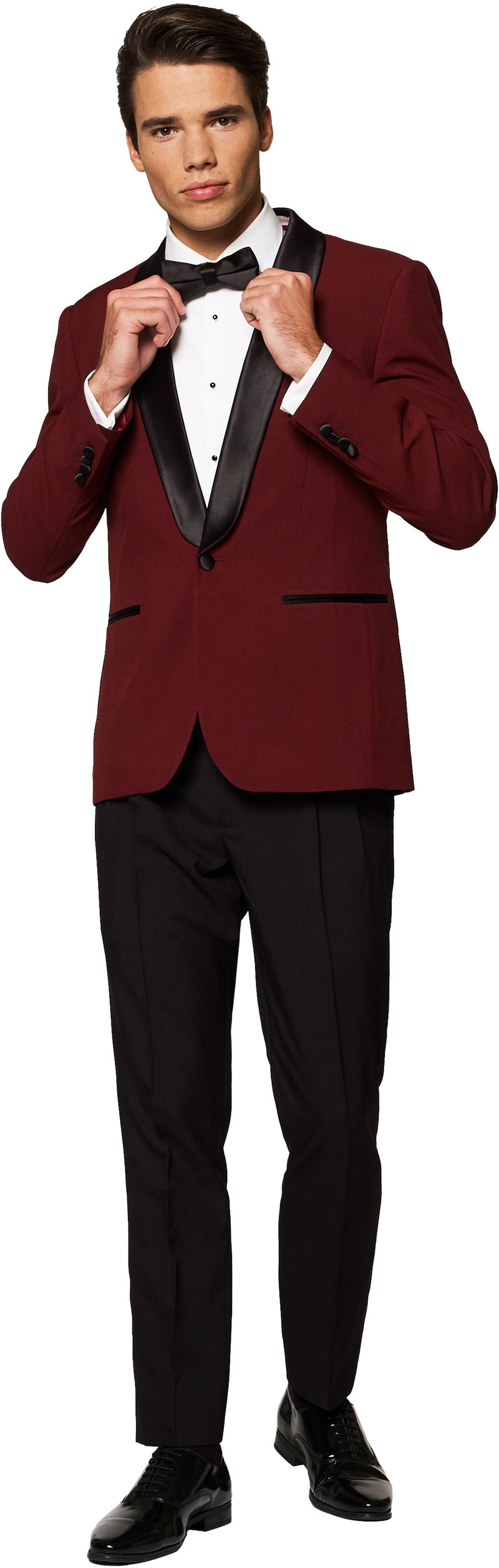 OppoSuits Smoking Hot Burgundy foto 0