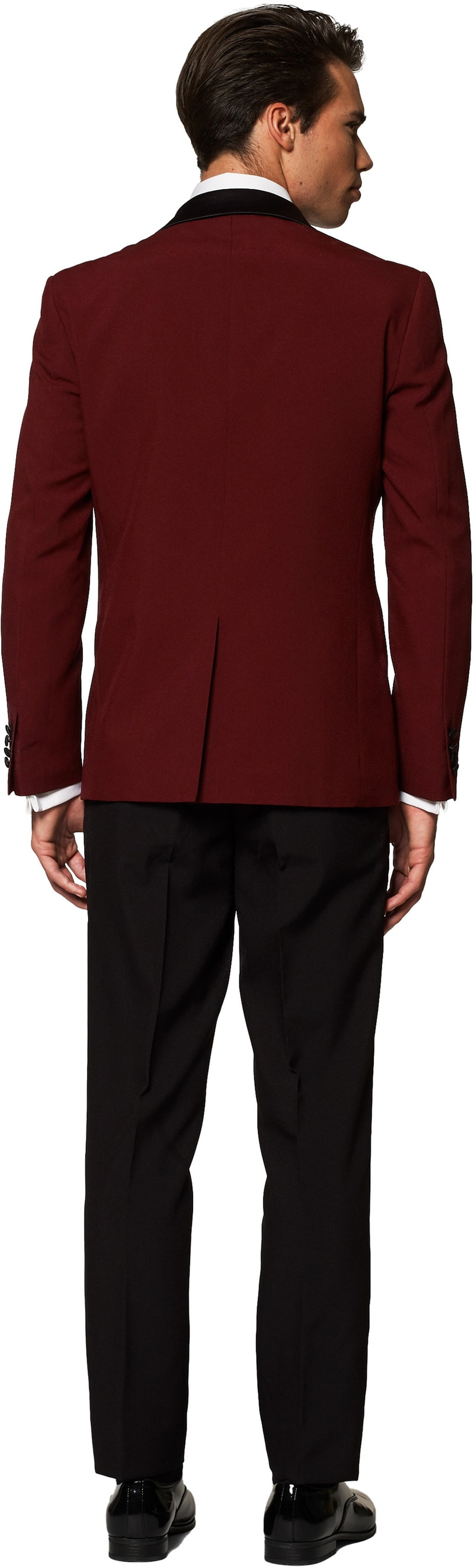 OppoSuits Smoking Hot Burgundy foto 1