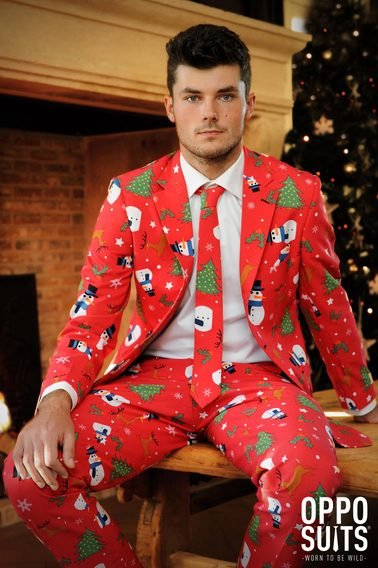 OppoSuits The Christmaster Kostuum foto 2
