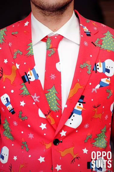 OppoSuits The Christmaster Kostuum foto 3