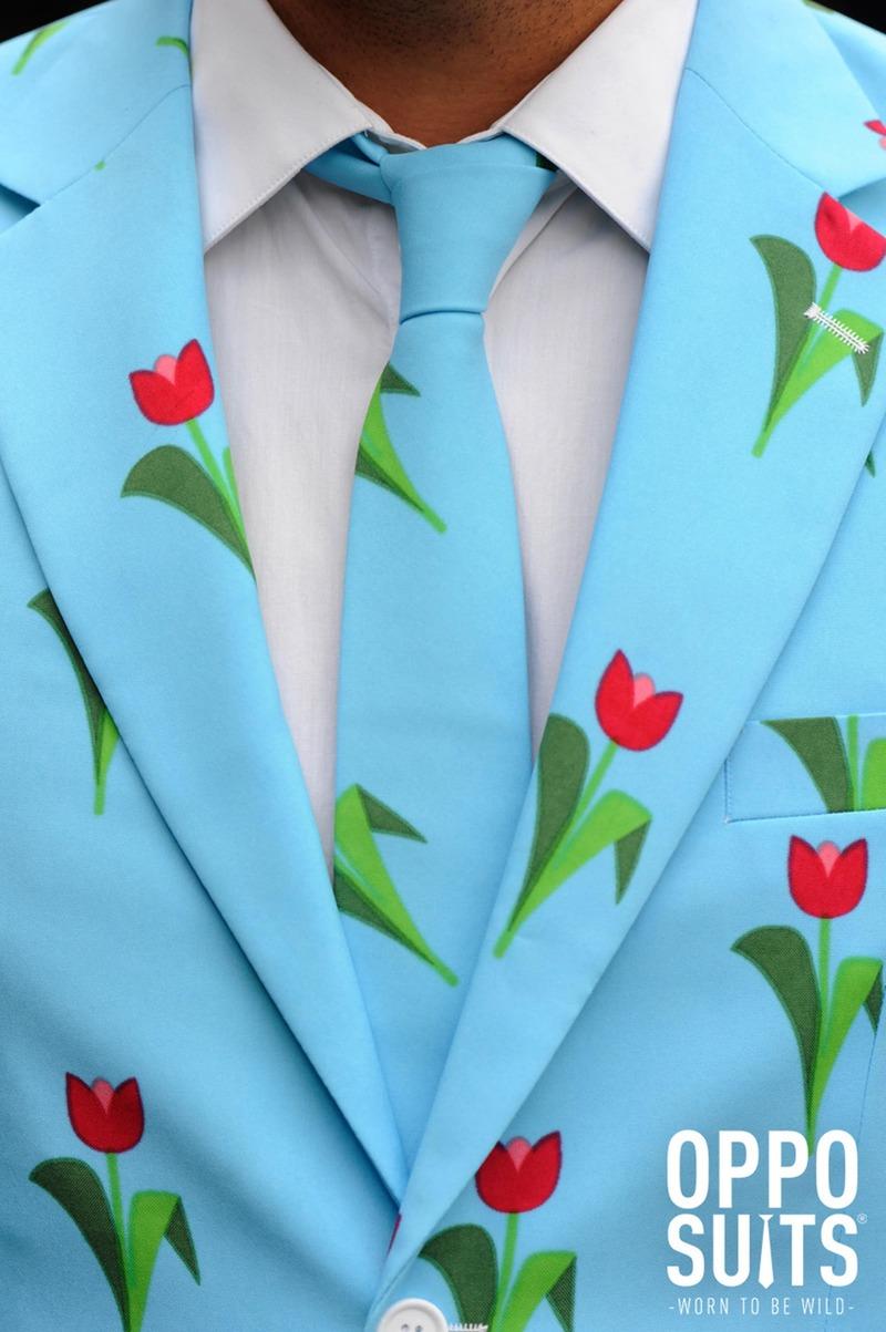 OppoSuits Tulips from Amsterdam Tulpen Kostuum foto 3
