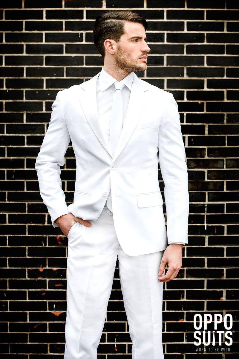 OppoSuits White Knight Kostuum foto 2