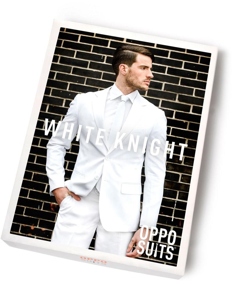 OppoSuits White Knight Kostuum foto 5