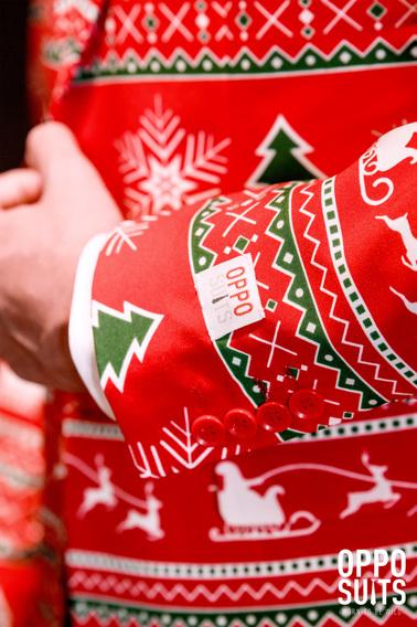 Detail OppoSuits Winter Wonderland Kostuum