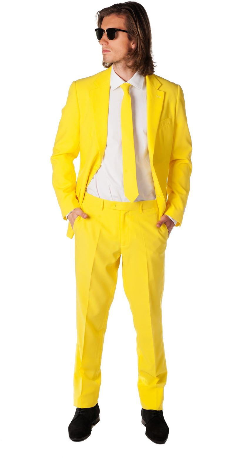 OppoSuits Yellow Fellow Kostuum foto 0