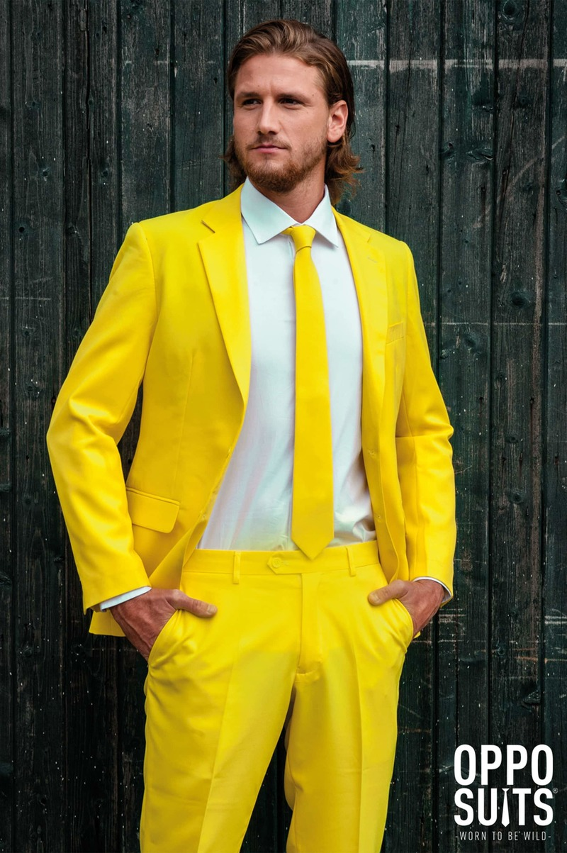 OppoSuits Yellow Fellow Kostuum foto 2