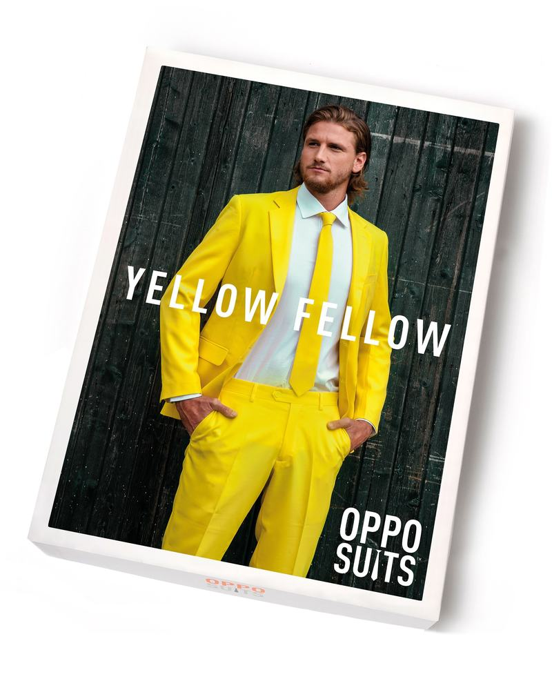 OppoSuits Yellow Fellow Kostuum foto 4