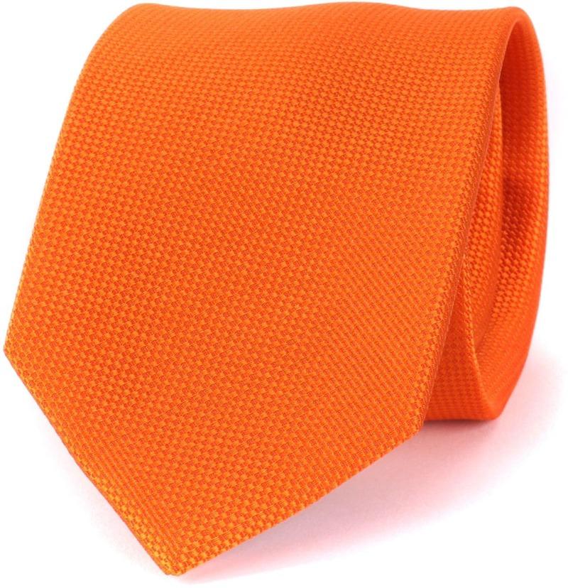 Orange Tie 13a